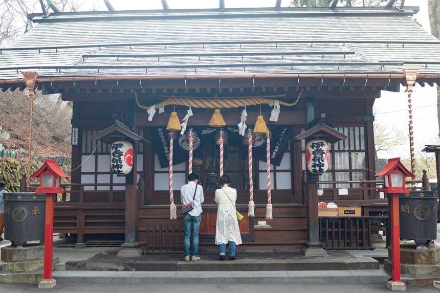 伊香保神社の本殿