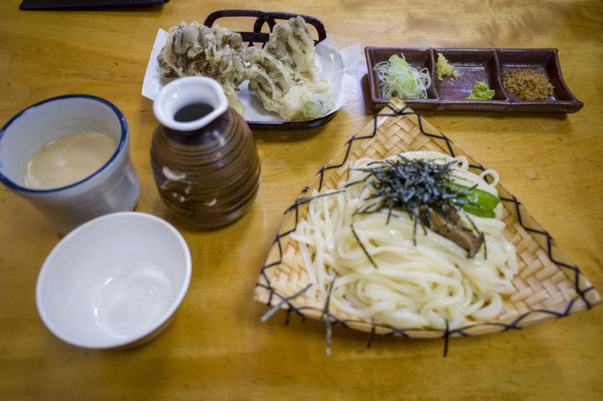 大澤屋の竹、ごま汁